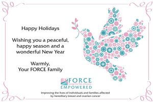 Happy Holidays from FORCE